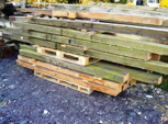 Pallet of Beams