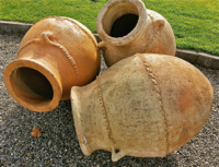 Large Clay Pots or 'tinajas'