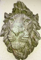 Wall Lion Face
