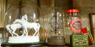 Statuettes and Tins